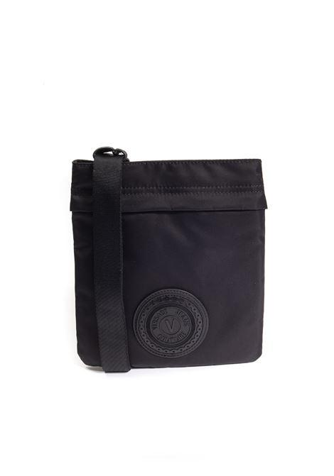 Tracolla zip nylon nero VERSACE JEANS COUTURE   Borse a mano   B16ZS102-899