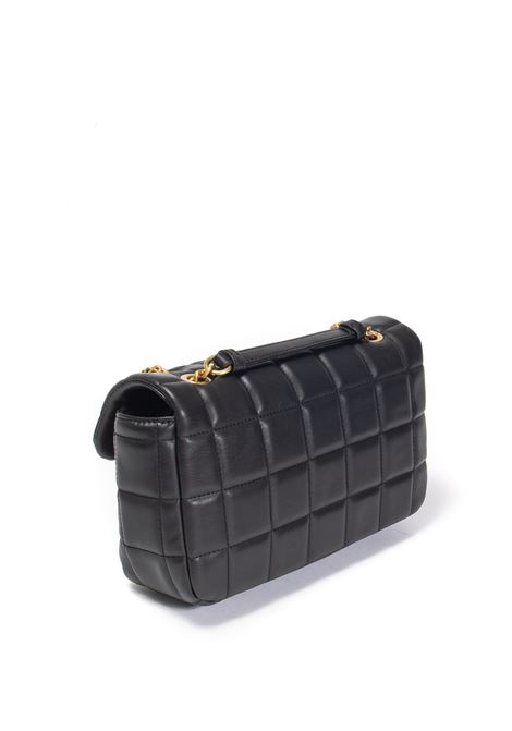 Tracolla puffy quilted nero VERSACE JEANS COUTURE | Borse a spalla | BB3ZS061-899