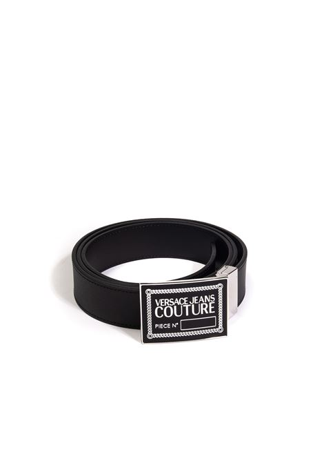 Cintura logo nero VERSACE JEANS COUTURE | Cinture | F21ZP061-899