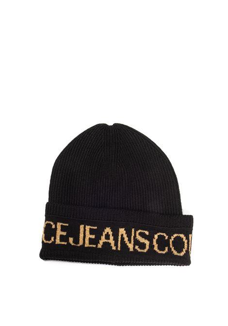 Cappello lana nero/oro VERSACE JEANS COUTURE | Cappelli | K40ZG020-G89