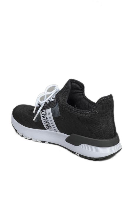 Sneaker dynamic nero VERSACE JEANS COUTURE | Sneakers | SA7ZS047-899