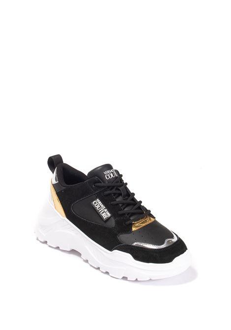 Sneaker speedtrack nero VERSACE JEANS COUTURE | Sneakers | SC2ZP002-899