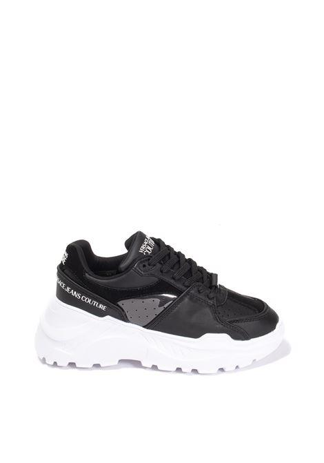 Sneaker speedtrack pelle black VERSACE JEANS COUTURE | Sneakers | SC4DZP064-899