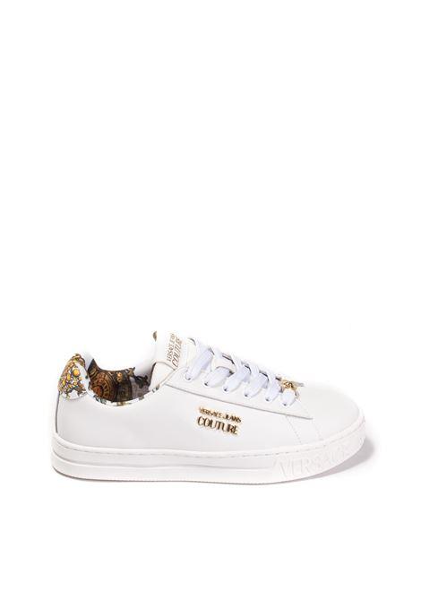Sneaker court bianco VERSACE JEANS COUTURE | Sneakers | SKLZP016-003