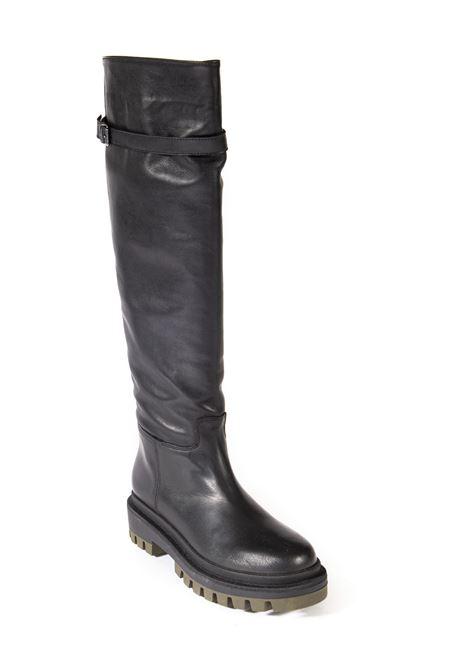 Stivale fibbia nero VICENZA | Stivali | CR07TVIT-NERO
