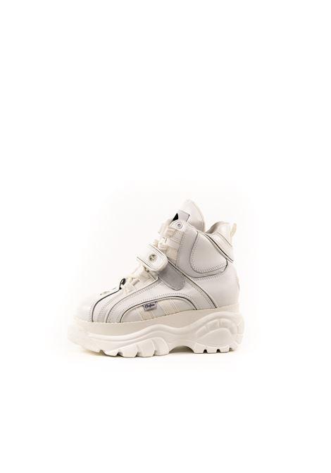 BUFFALO SNEAKER MID COW BIANCO BUFFALO | Sneakers | 1348NAPPA-WHT