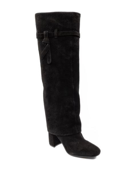 Stivale camoscio rivestito nero DIEGO GARCIA | Stivali | 3505XCAM-NERO