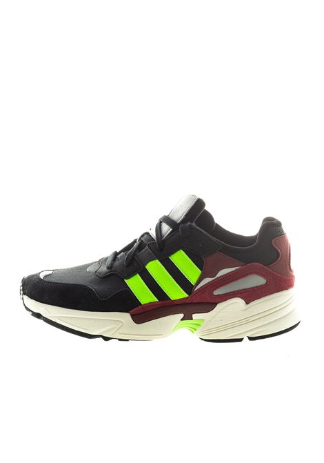 Sneaker Yung nero fluo ADIDAS | Sneakers | EE7247YUNG-WHT