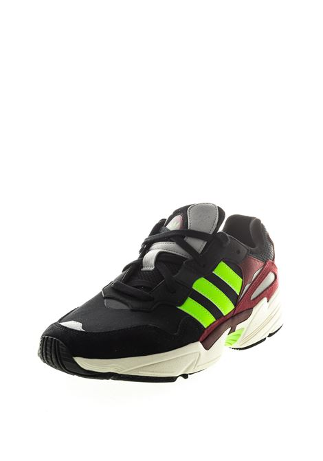 ADIDAS SNEAKER YUNG NERO FLUO ADIDAS | Sneakers | EE7247YUNG-WHT
