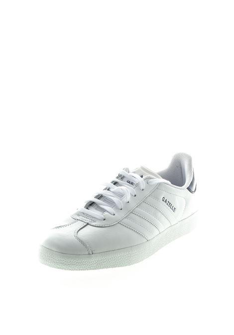 ADIDAS SNEAKER GAZELLE BIANCO/BLU ADIDAS | Sneakers | FU9487GAZELLE-WHITE/BLU