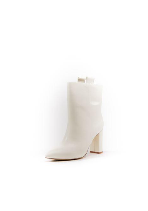 Bibi Lou Tronchetto pelle bianco t80 BIBI LOU | Tronchetti | 546PELLE-OFF WHITE