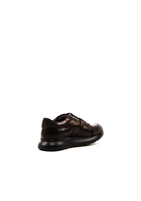 Sneaker Living marrone BRIAN CRESS | Stringate | X24LIVING-MARRONE
