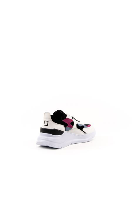 D.A.T.E. SNEAKER FUGA COLLIE BIANCO DATE | Sneakers | FUGA DCOLLIE-WHT/BLK