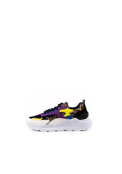 D.A.T.E. SNEAKER FUGA LEOPARDO NERO D.A.T.E | Sneakers | FUGA DLEOPARD-BLK