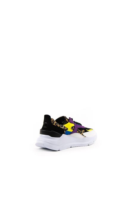 D.A.T.E. SNEAKER FUGA LEOPARDO NERO DATE | Sneakers | FUGA DLEOPARD-BLK