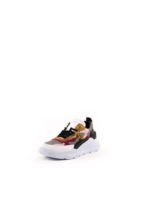 D.A.T.E. SNEAKER FUGA PITONE GRIGIO D.A.T.E | Sneakers | FUGA DPYTON-GRAY