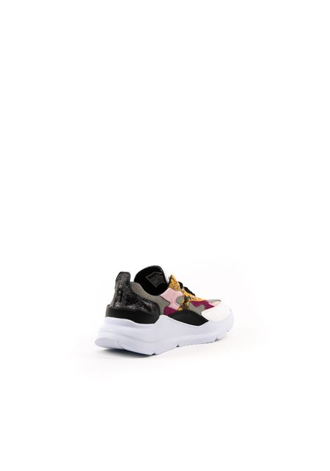 D.A.T.E. SNEAKER FUGA PITONE GRIGIO DATE | Sneakers | FUGA DPYTON-GRAY