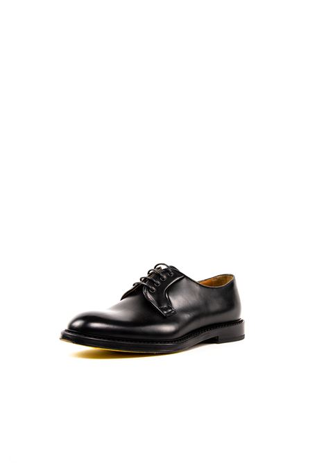 DOUCAL'S DERBY PELLE NERO DOUCAL'S | Stringate | 2163PELLE-NERO