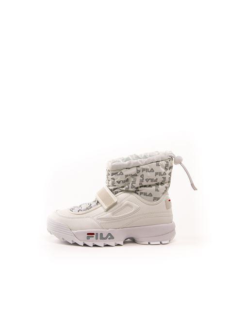 FILA DISTRUPTOR SNEAKER MID NEVE BIANCO FILA | Sneakers | 1010750DISTRUPTOR NEVE-1FG