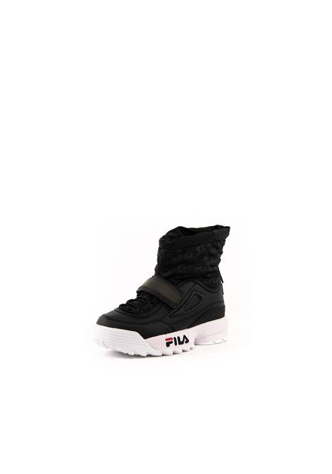 FILA DISTRUPTOR SNEAKER MID NEVE NERO FILA | Sneakers | 1010750DISTRUPTOR NEVE-25Y