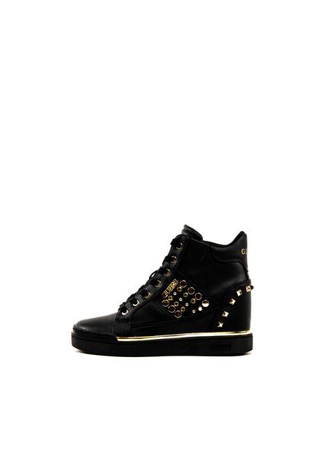 GUESS SNEAKER MID FELIX NERO GUESS | Sneakers | FL7FLXFELIX-BLK