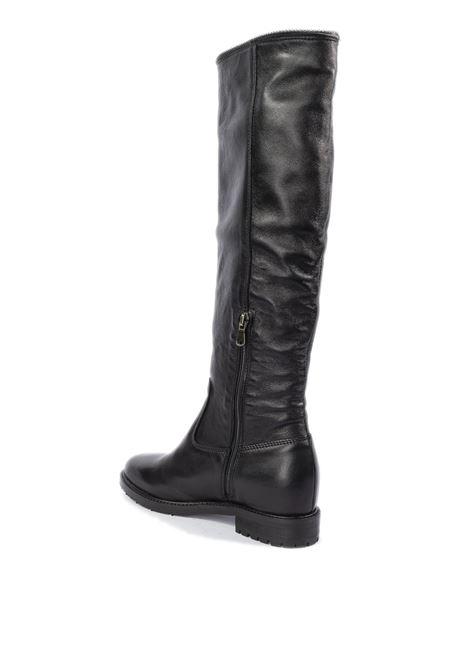 Stivale pelle nero zeppa interna KEB | Stivali | 3002SOFT-NERO
