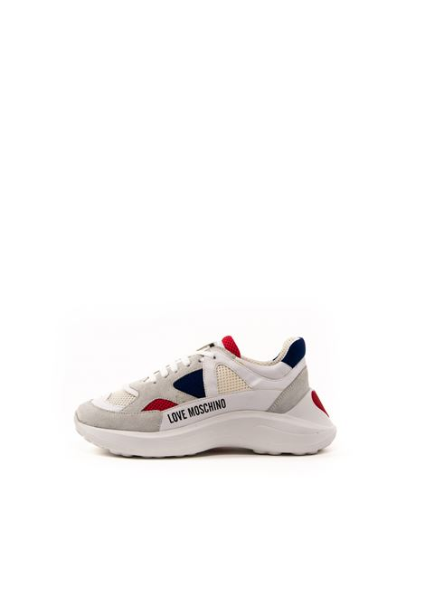LOVE MOSCHINO SNEAKER BIANCO LOVE MOSCHINO | Sneakers | 15306CAM/MESH-10A