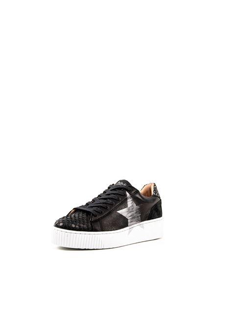 NIRA RUBENS SNEAKER COSMOPOLITAN NERO NIRA RUBENS | Sneakers | COSMOCOST104-SNAKE