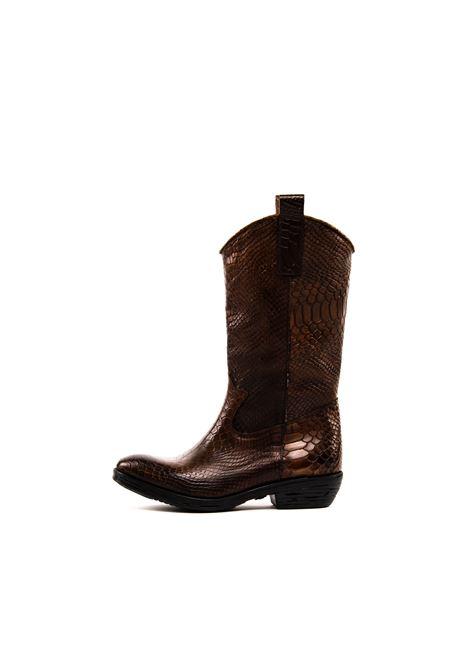 NUOVA CUOIERIA | Stivali | Z213ANACONDA-MARRONE