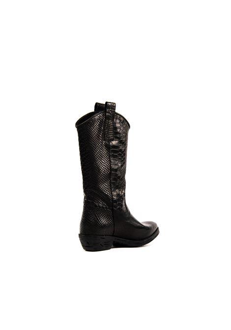 NUOVA CUOIERIA | Stivali | Z213ANACONDA-NERO