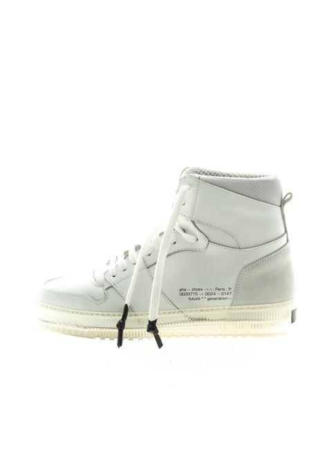 PHA SNEAKER MID KAL BIANCO PHA | Sneakers | KAL2PELLE-WHITE
