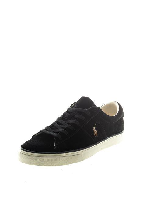 POLO RALPH LAUREN SNEAKER SAYER NERO RALPH LAUREN | Sneakers | SAYERSUEDE-003