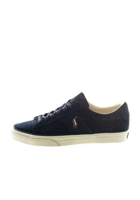 POLO RALPH LAUREN SNEAKER SAYER BLU RALPH LAUREN | Sneakers | SAYERSUEDE-005