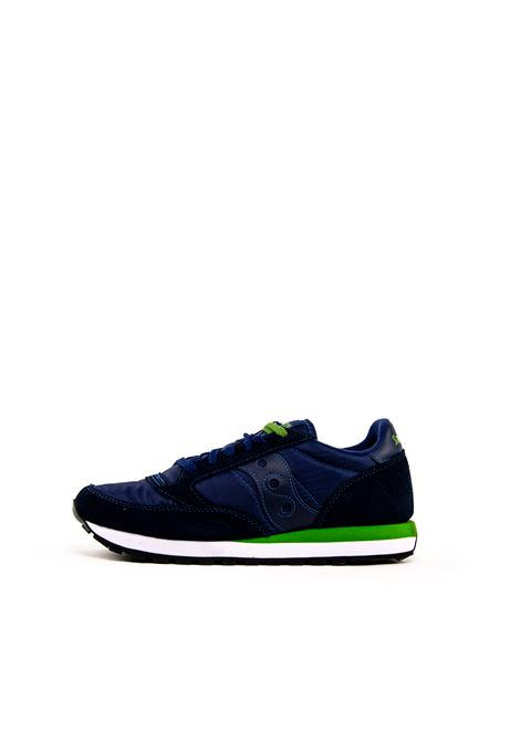 Sneaker Jazz blu/verde SAUCONY | Sneakers | 2044JAZZ-266