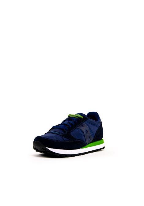 SAUCONY SNEAKER JAZZ BLU/VERDE SAUCONY | Sneakers | 2044JAZZ-266