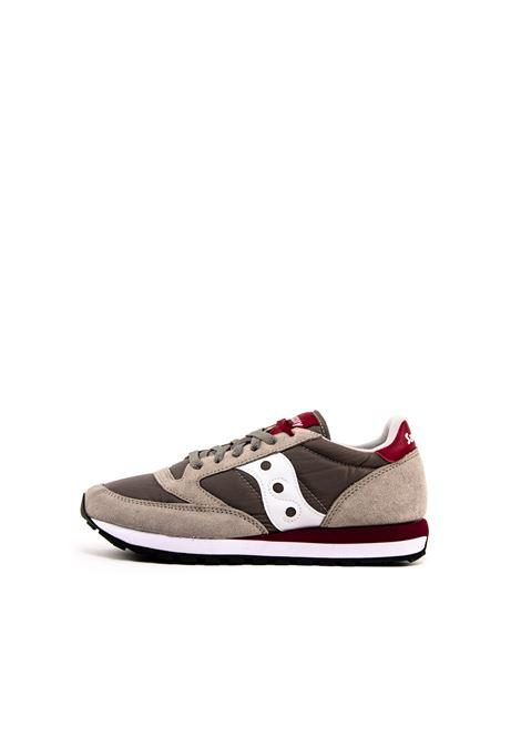 SAUCONY SNEAKER JAZZ GRIGIO/ROSSO SAUCONY | Sneakers | 2044JAZZ-398