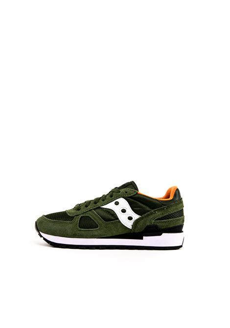 SAUCONY SNEAKER SHADOW VERDE/BIANCO SAUCONY | Sneakers | 2108SHADOW-534