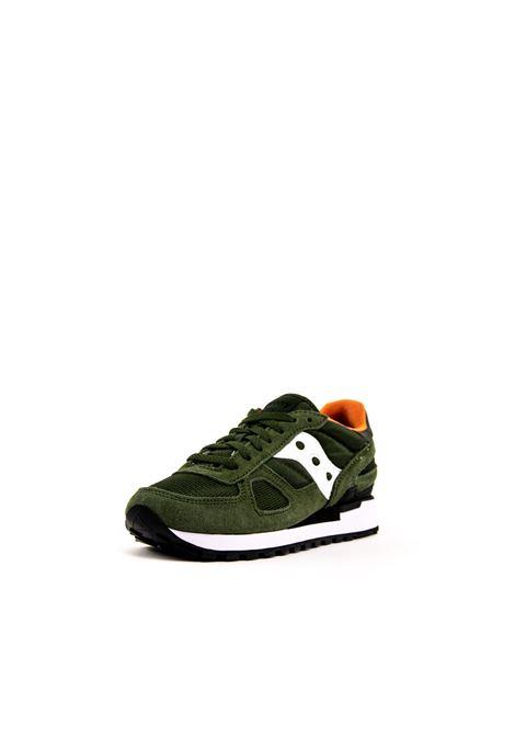Sneaker Shadow verde scuro/bianco SAUCONY | Sneakers | 2108SHADOW-534