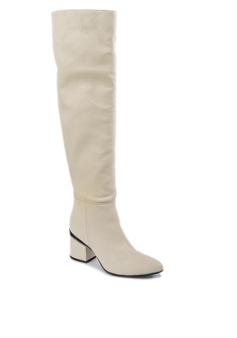 Stivale over bianco SILVIA ROSSINI | Stivali | 810NAPPA-OFF WHITE