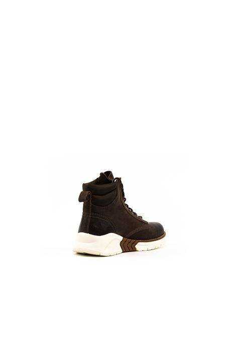 TIMBERLAND SNEAKER MID MORO TIMBERLAND | Anfibi | A2873PELLE-4061