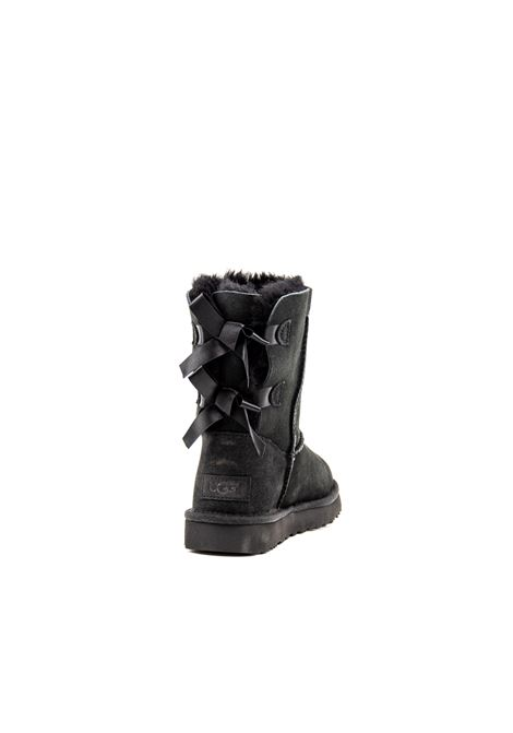 UGG TRONCHETTO BAILEY BOW NERO UGG | Tronchetti | BAILEY BOWMONT-BLACK