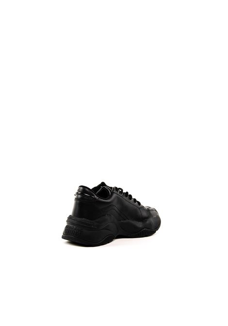 VERSACE JEANS COUTURE SNEAKER PELLE NERO VERSACE JEANS COUTURE | Sneakers | BSI3DDIS3-899