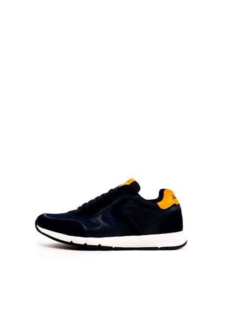 VOILE BLANCHE SNEAKER REUBENT BLU/ARANCIONE VOILE BLANCHE | Sneakers | 2014162REUBENT-1C56