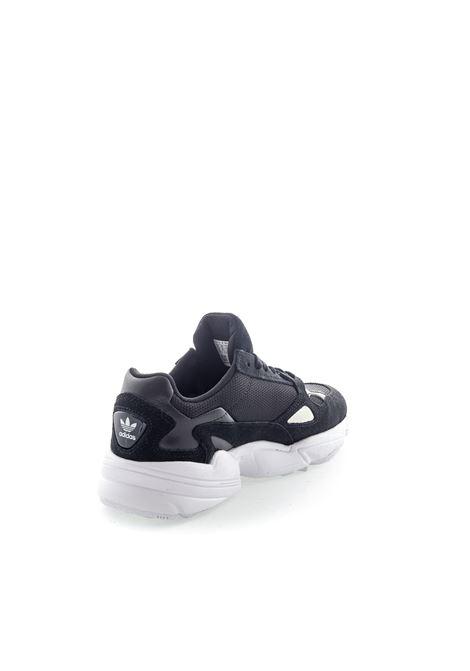 Adidas Sneaker Falcon camoscio/mesh nero ADIDAS | Sneakers | B28129FALCON-BLACK