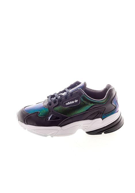 Adidas sneaker falcon pelle/reflex nero ADIDAS | Sneakers | EF5517FALCON-BLACK