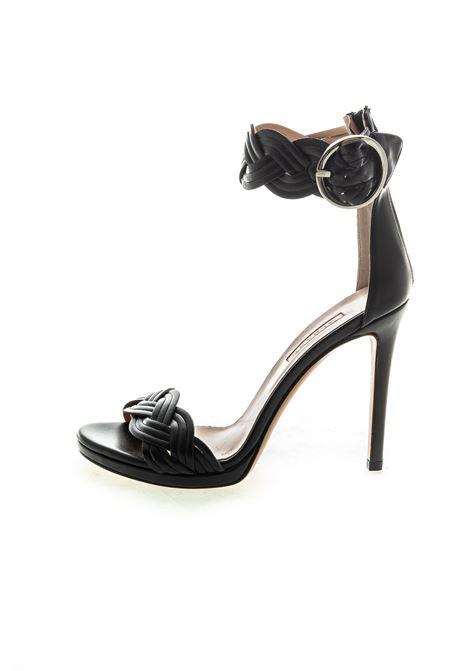 Albano sandalo treccia t110 nero ALBANO | Sandali | 4114SOFT-NERO