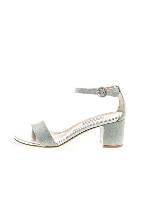Albano sandalo glitter mesh t50 argento ALBANO | Sandali | 4139MESH-ARGENTO