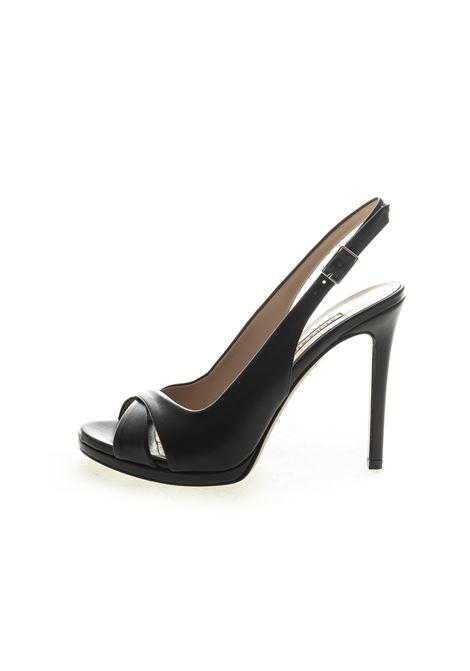 Albano sandalo incrocio t110 nero ALBANO | Sandali | 4205SOFT-NERO