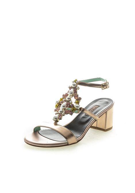 Albano sandalo gioiello t50 rame ALBANO   Sandali   4224METAL-RAME