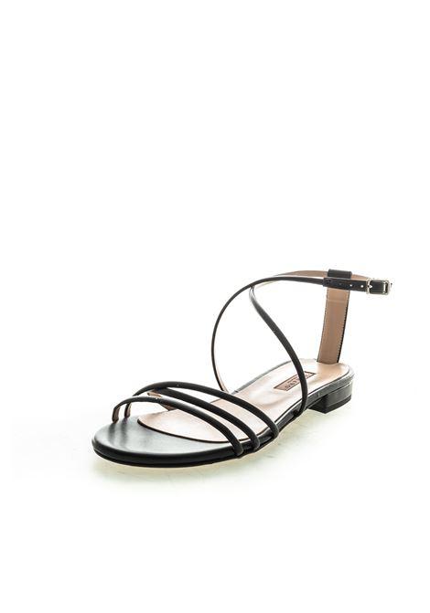 Albano sandalo flat soft nero ALBANO | Sandali flats | 4228SOFT-NERO